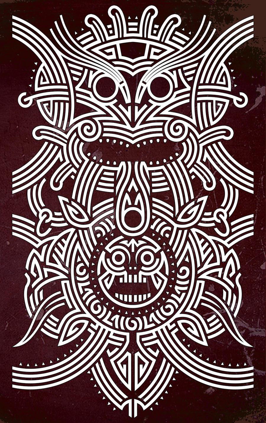 maori art iphone wallpaper - photo #7