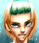 .:Green Eyes:. ~practise~