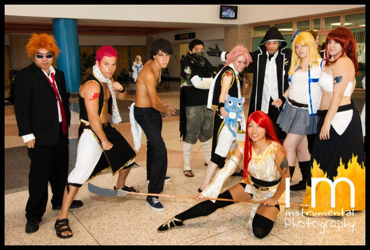 Fairy Tail cosplay group 3 by Kimkashi on DeviantArt