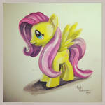 Fluttershy Toy Drawing