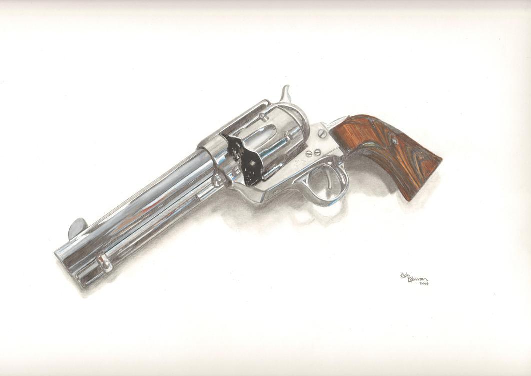 Colt .45 Revolver by PencilRick
