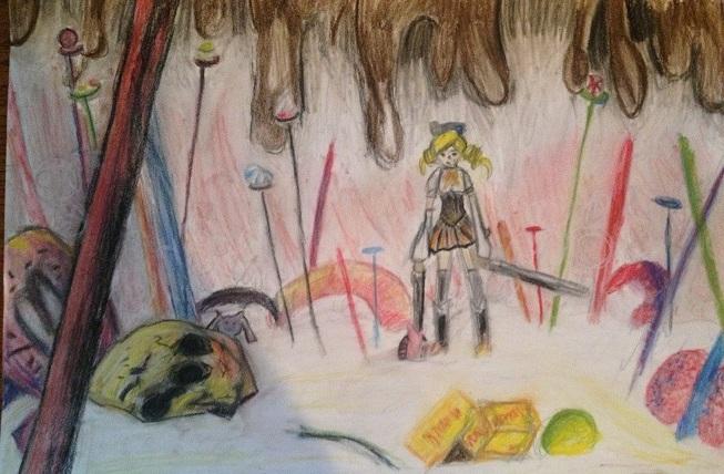 Puella Magi Madoka Magica Witch Hunt By ZalphaNekoChan