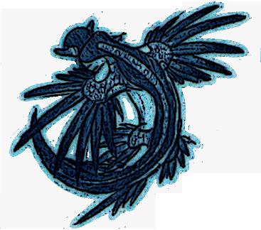 Blue Dragon Sea Slug by Minneral