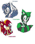 Adoptables: Sonic Characters