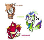 Sonic Female Adoptables