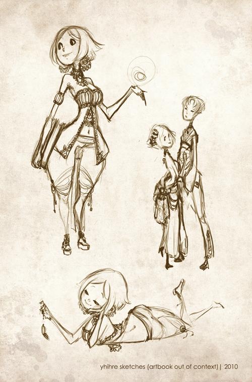 Artbook Page by RedBeanViolin