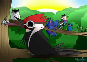 Happy Birdday Sadogus!! by StoryBirdArtist