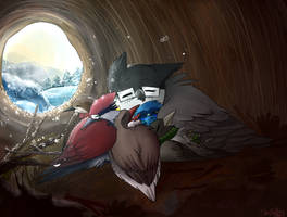 Christmas Morning by StoryBirdArtist