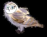 Lizzy The Barn Owl