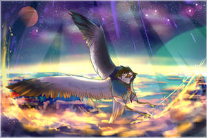 Touching the Sky - Commission by StoryBirdArtist