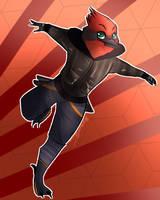 Red Bird Boi by StoryBirdArtist