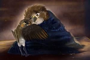 My friend Chip by StoryBirdArtist
