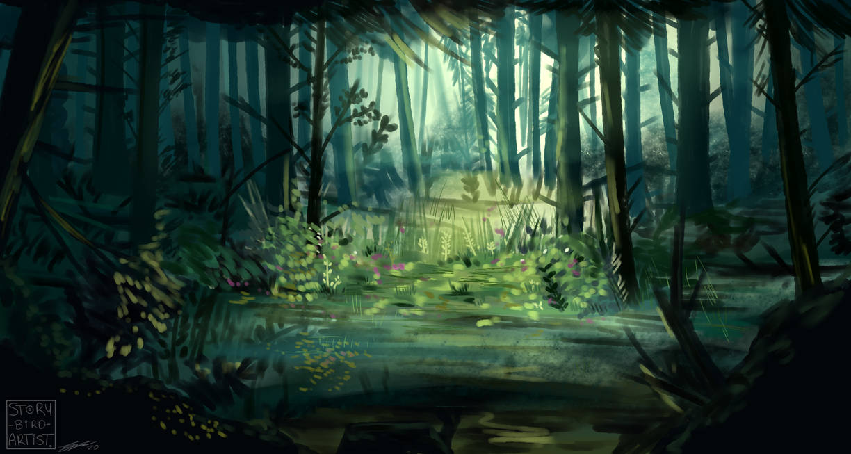 The Quiet spot of the Forest