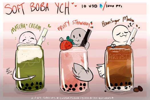 Soft Boba YCH - CLOSED