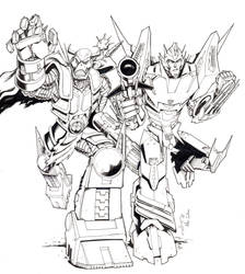 Death's Head and Rodimus by MisterJazzz
