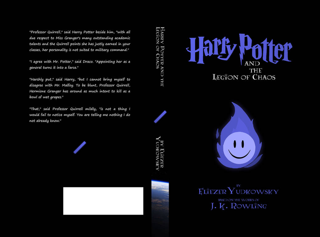 HPMOR Book 2 - The Legion of Chaos by 3mptylord