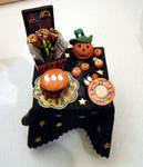 Halloween Black Table