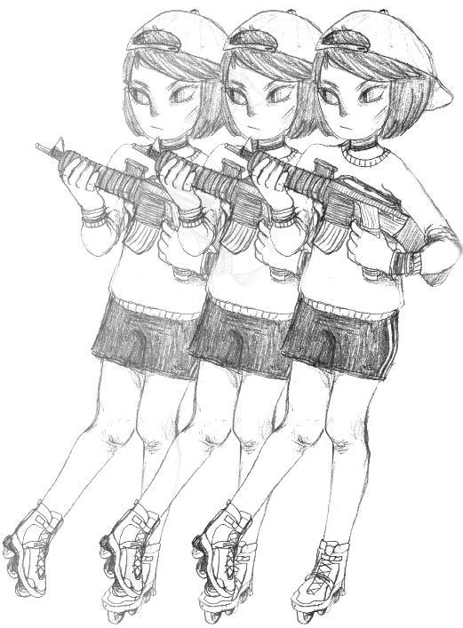 Guns by nopesoap