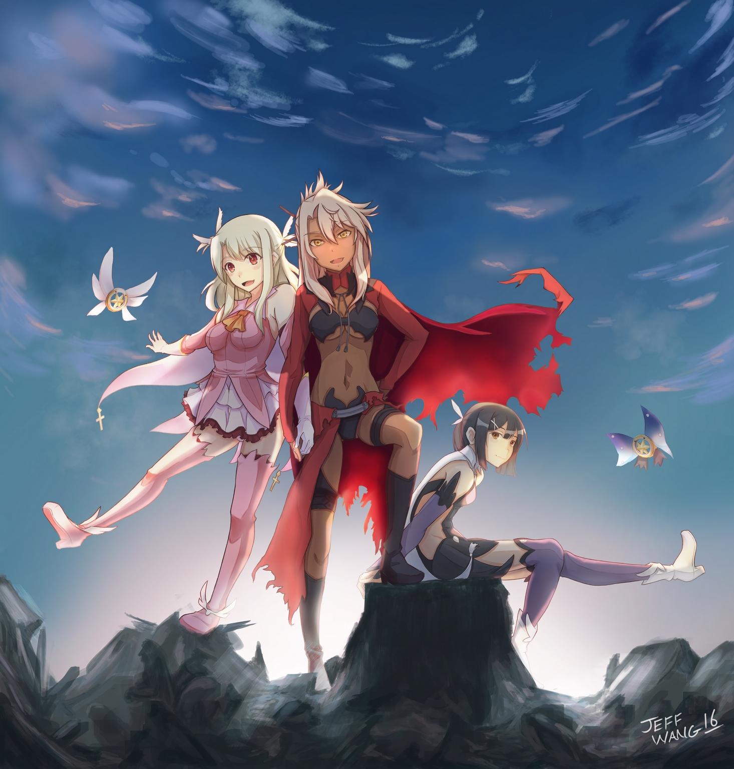 Fate Kaleid Prisma Illya by Azalea23