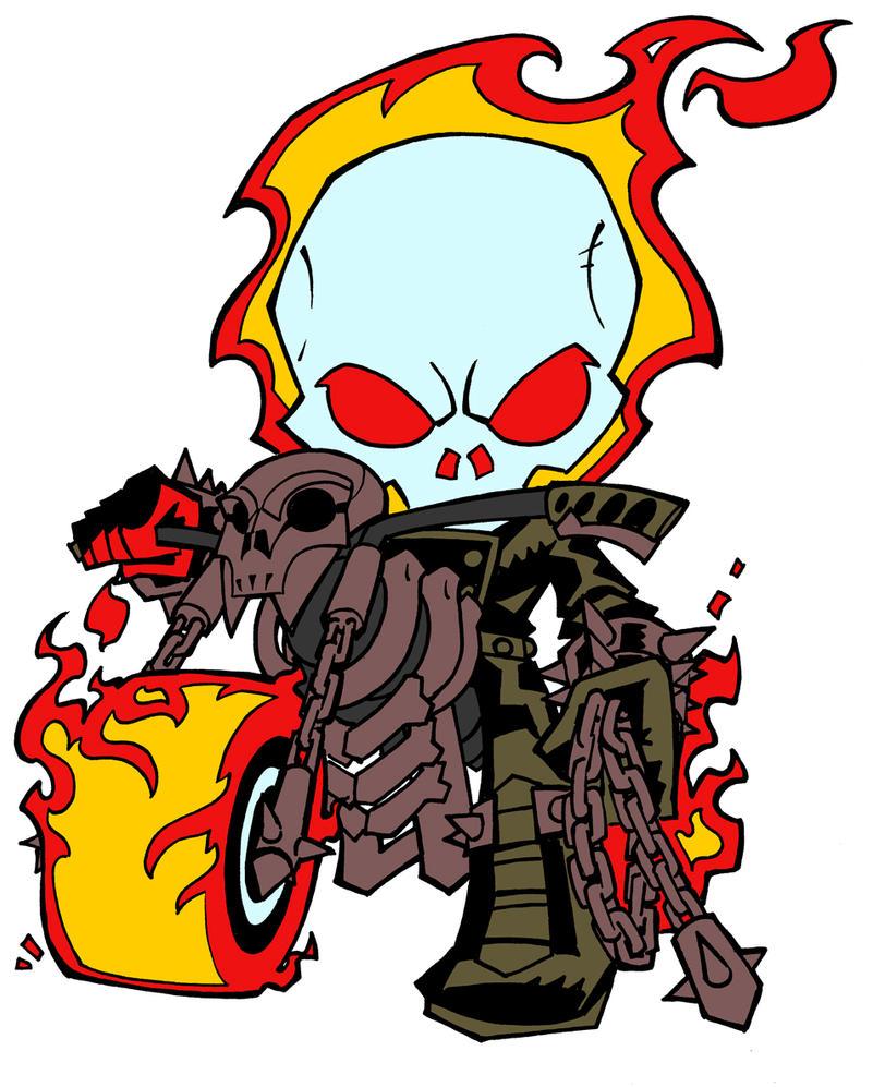 KidNotorious- Ghost Rider -WIP by TheKKM on DeviantArt
