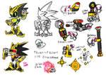 Shard the Mecha Sonic redesign