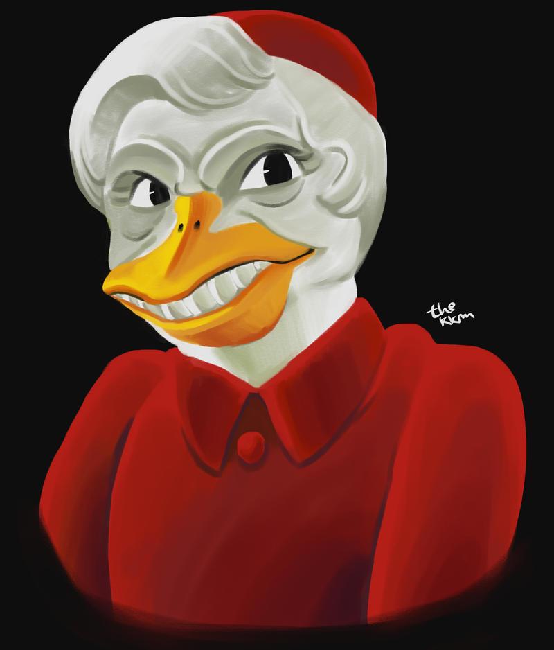 Duck Joseph Ratzinger by TheKKM