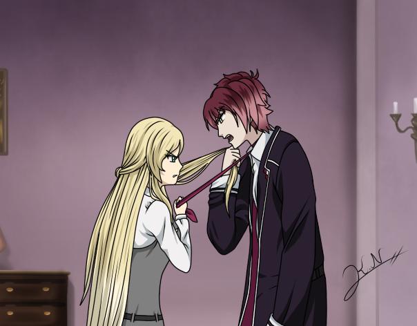 Reika VS Ayato by Kirie-Natsuko