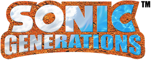 Sonic Generations Logo (Adventure Style) 2/3 by Turret3471