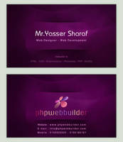Phpwebbuilder Business Card by fewela