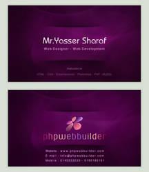 Phpwebbuilder Business Card