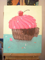 yummy cupcake by ameriankiwi