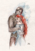 Sandor and Sansa once more) by NataliaMalikhina