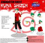 Naruto OC Sheet: Kuma Shizen [V2]