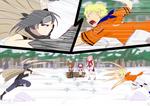 OC tournament round 3: Shinachiku VS Ekitai by Baztey