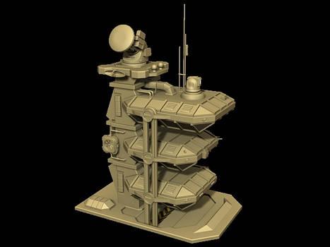 Radar and Command Center
