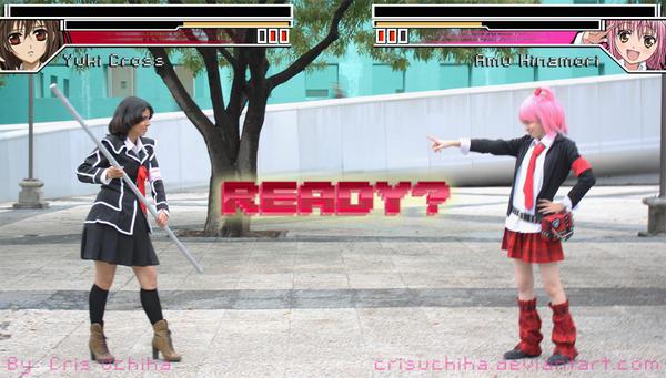Yuki VS Amu by iCrisUchiha