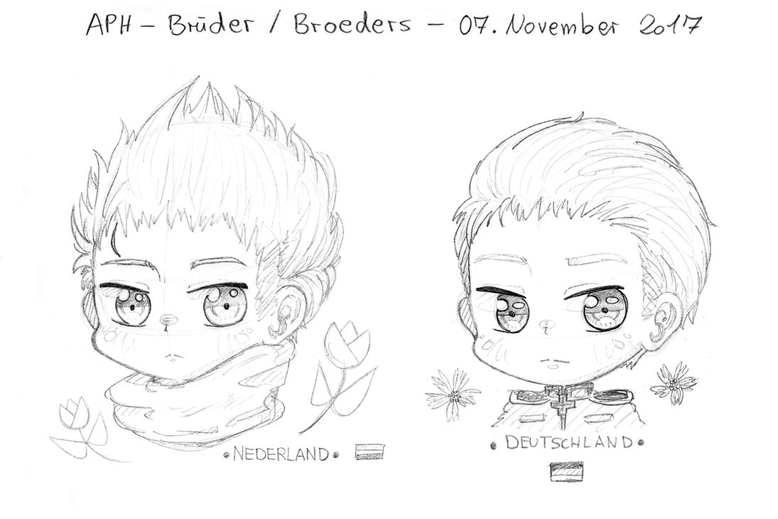 APH_Brueder / Broeders by xPiko-Chanx