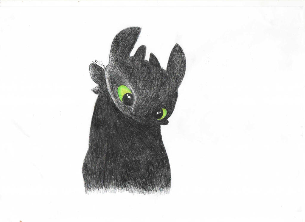 Toothless by justmeJuli