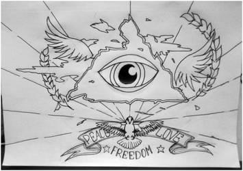 Peace.love.freedom by Ocelotek