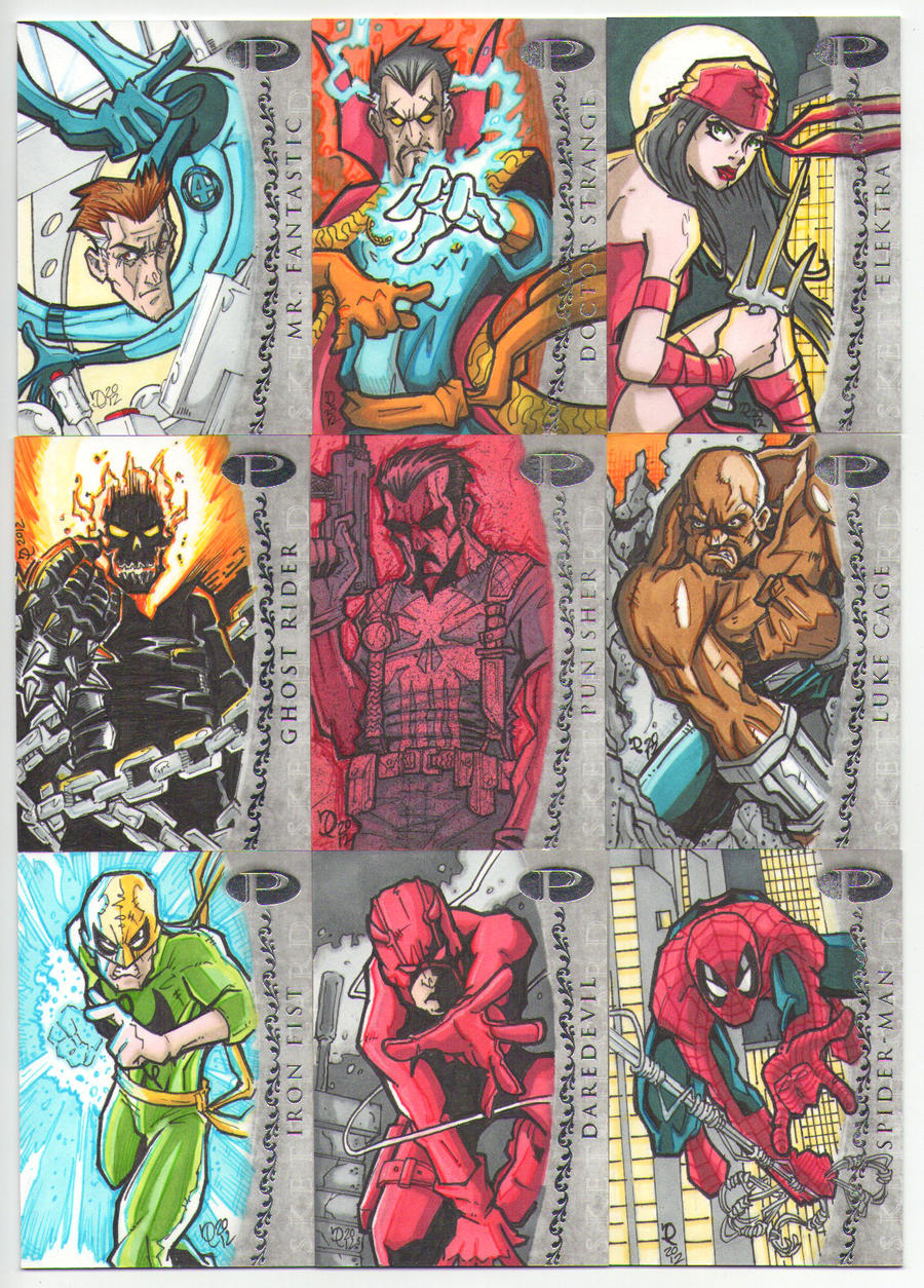MARVEL PREMIER SKETCH CARDS