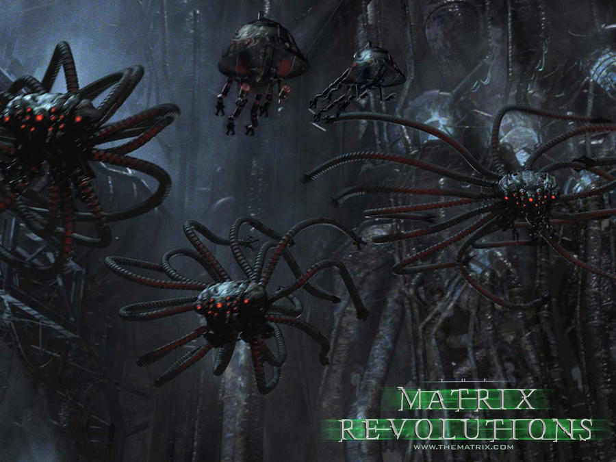 In Matrix Revolutions, what's going on when Neo and a sentinel ...
