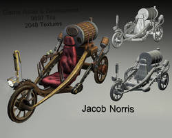 Steampunk Vehicle by Jacob-3D