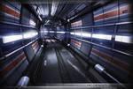Sci-Fi Corridor Futuristic Environment