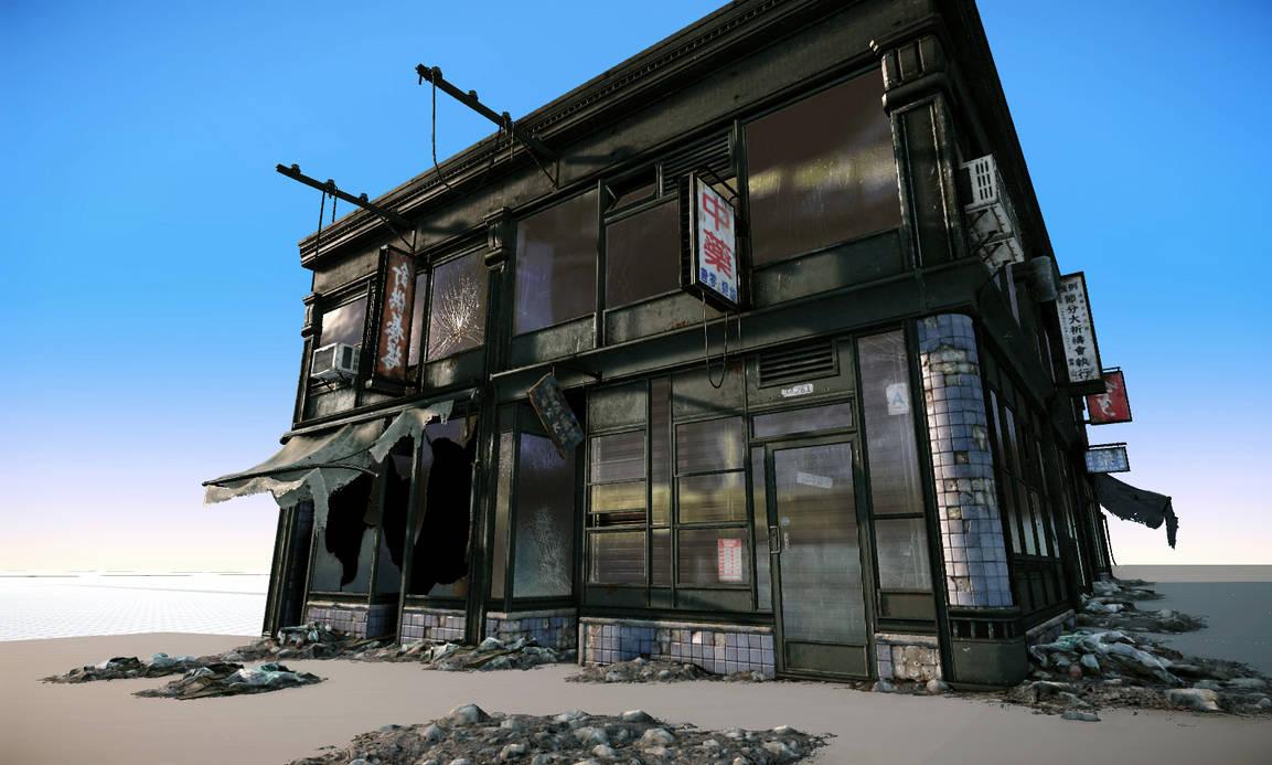 (WIP) Weathered Building 1