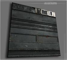 Weathered Building - Base Metal