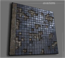 Weathered Building - Decaying Tiles