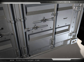 Highpoly - Train Container (Close-Up)