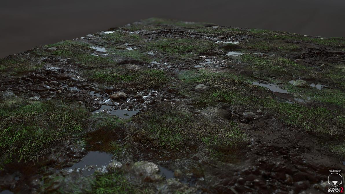 Organic Grass/Mud Texture by Jacob-3D