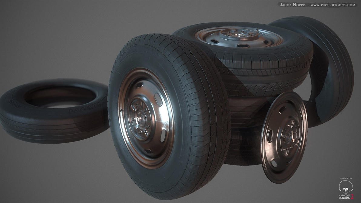 High Poly Tires by Jacob-3D
