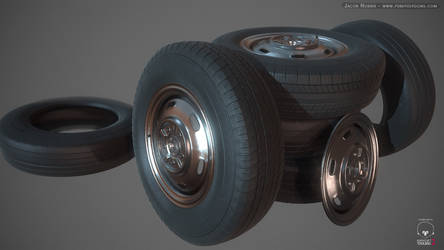 High Poly Tires
